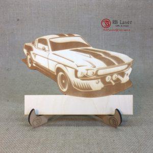 Naambord auto Mustang Eleanor