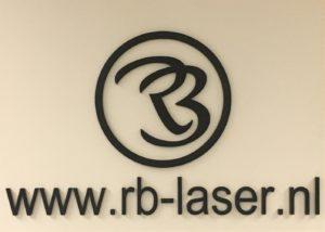 Logo bord RB Laser