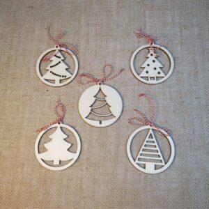 Kerstbal alle Kerstbomen